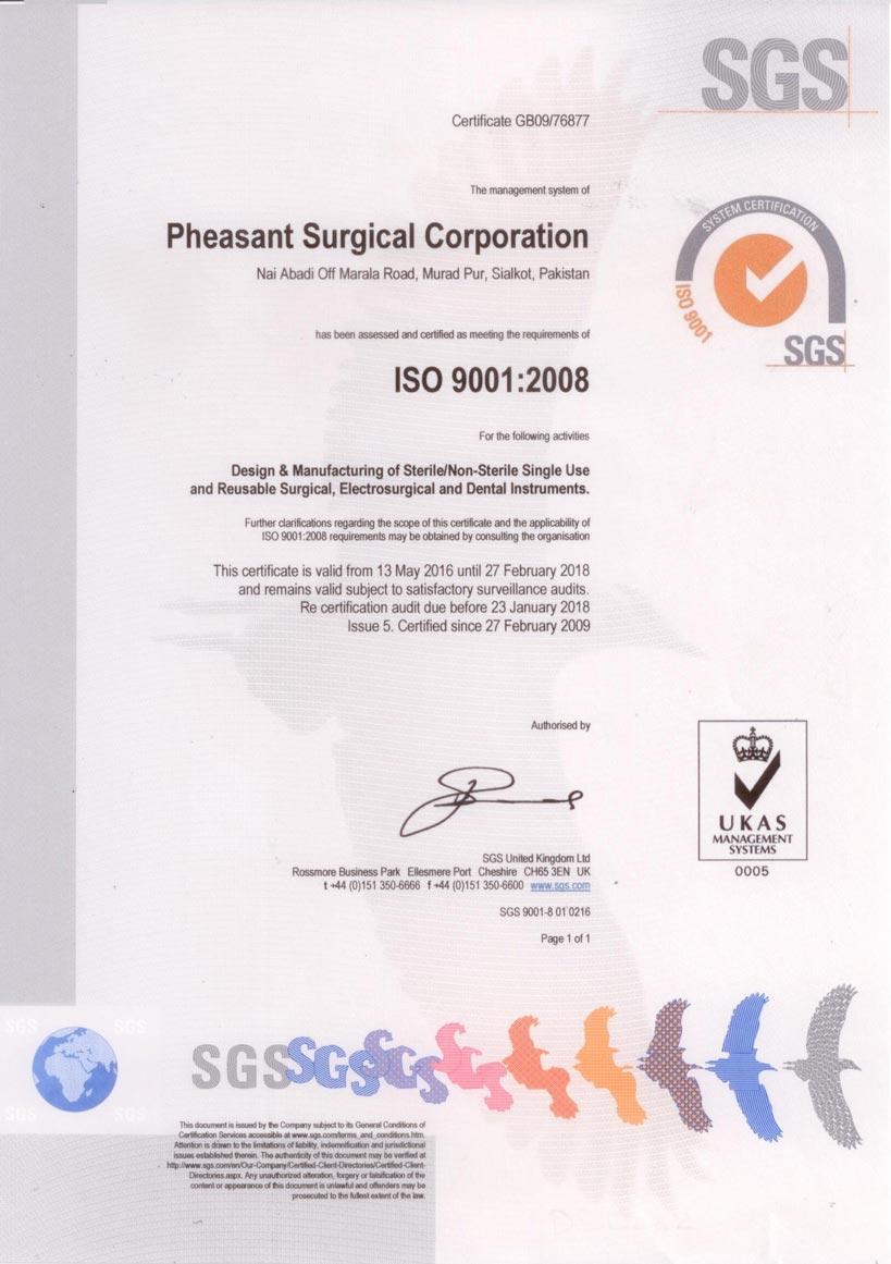 SGS-13485:2003